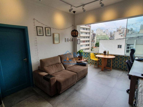 Apartamento Com 1 Dormitório À Venda, 64 M² Por R$ 640.000,00 - Santa Cecília - São Paulo/sp - Ap63370