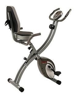 Sunny Salud Y Fitness Magnética Plegable Semi Reclinada Bic