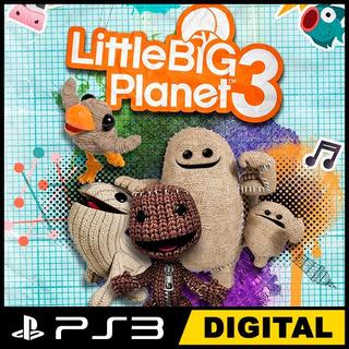 Little Big Planet 3 Ps3 No Cd