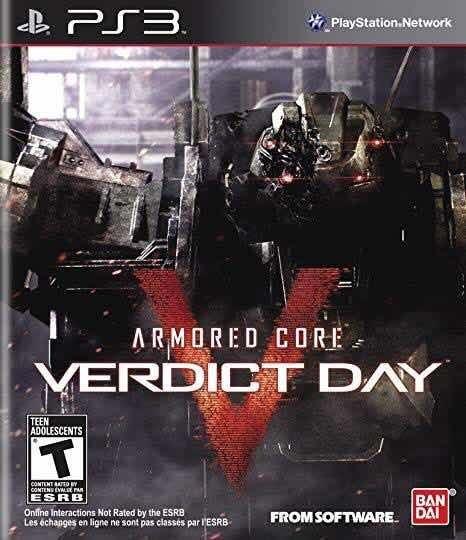 Armored Core: Verdict Day. Para Ps3