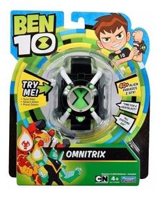 Relógio Original Ben 10 Omnitrix Frases Som Luz Basico Sunny