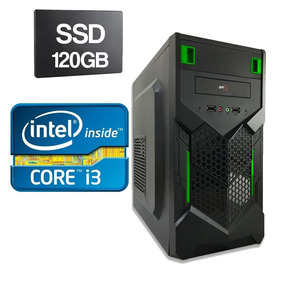 Computador Cpu Intel Core I3 2120 3.3ghz 4gb Ddr3 Ssd 120gb