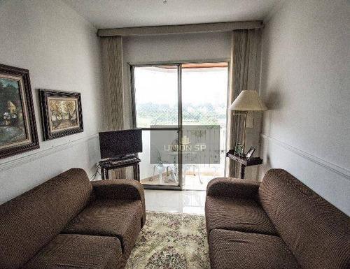 Apartamento Com 3 Dormitórios À Venda, 65 M² Por R$ 427.000,00 - Santo Amaro - São Paulo/sp - Ap43559