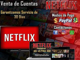 Cuentas Netflix Premium   Ultra Hd 4k   Entrega Inmediata