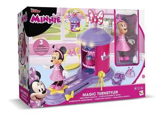 Minnie Gira Estilos Figura Accesorios Luz Original Caff Edu