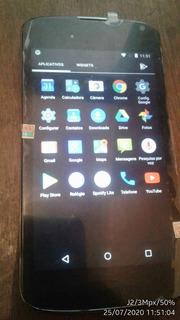 Celular LG Nexus 4 E960 Caixa Nf Tela Nova (*bateria Ruim)
