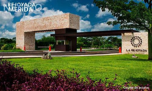 Imagen 1 de 7 de Terreno En Venta En Residencial Privada La Rejoyada Norte Merida, Yucatan
