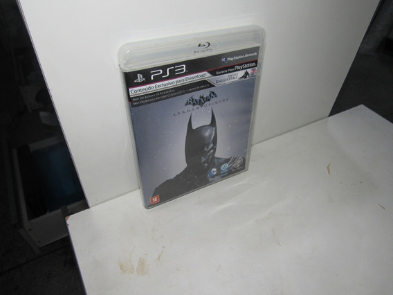 Batman Arkham Origins Ps3 Mídia Física