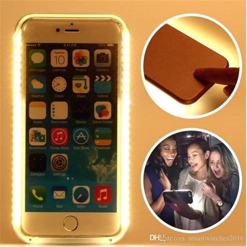 Forro Case iPhone 7/8 Plus Iluminacion Llamada Entrante New