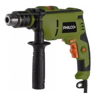 Taladro Percutor Philco Tp711 710w 3000rpm Mandril 13mm