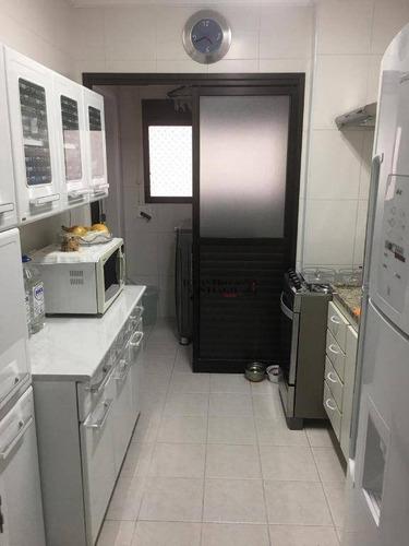 Apartamento Com 2 Dormitórios À Venda, 60 M² Por R$ 480.000,00 - Mooca (zona Leste) - São Paulo/sp - Ap0319