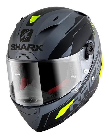 Casco Moto Integral Carbono Shark Sauer Race-r Pro Mat