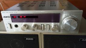 Amplificador Stereo Power Amplifier Aiko Pa-3000 - Saída Stk