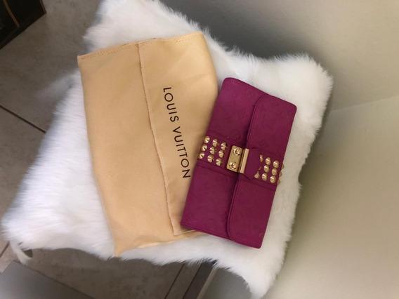 Bolsa De Mão Estilo Louis Vuitton Pink