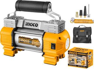 Compresor De Aire Ingco Aliment 12v Ideal Inflar Auto Compre
