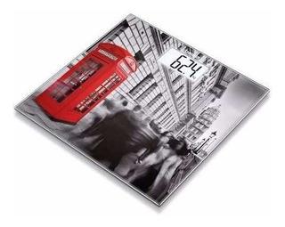 Beurer Gs 203 Londres Balanza Personal Digital Vidrio Lcd