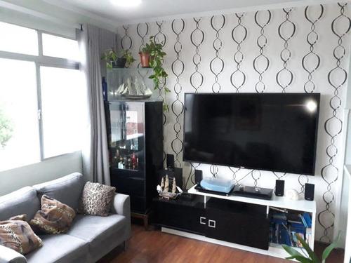 Apartamento À Venda, 70 M² Por R$ 330.000,00 - Marapé - Santos/sp - Ap5374