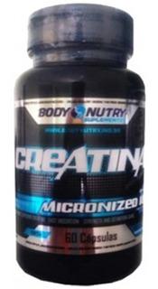 Creatina Micronizada - 60 Cápsulas - Body Nutry