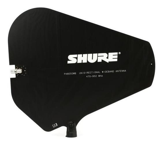 Antena Shure Direcional Para Sistemas Sem Fio Psm Pa-805 Swb