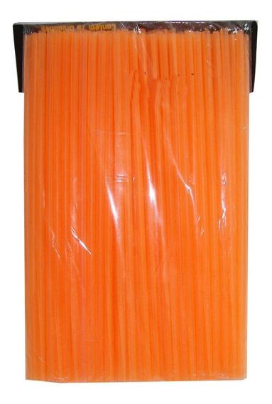 Capa Raio Roda Jante P/ Motos Laranja Fluorescente