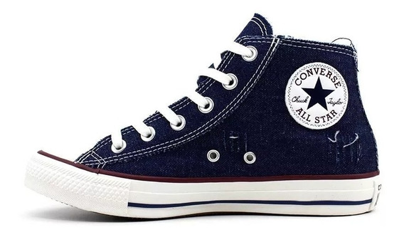 Tênis All Star Converse Ct11970001 Jeans Azul