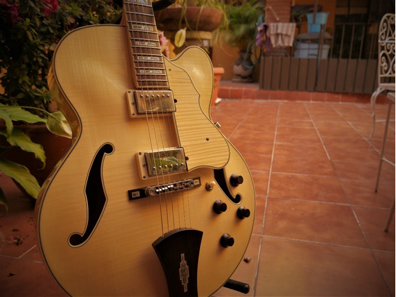 Guitarra Ibanez Af105 Semi Hollow - Semi Hueca