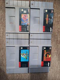 Lote De Consolas Y Juegos Dreamcast Mega Man Xbox Snes Play1