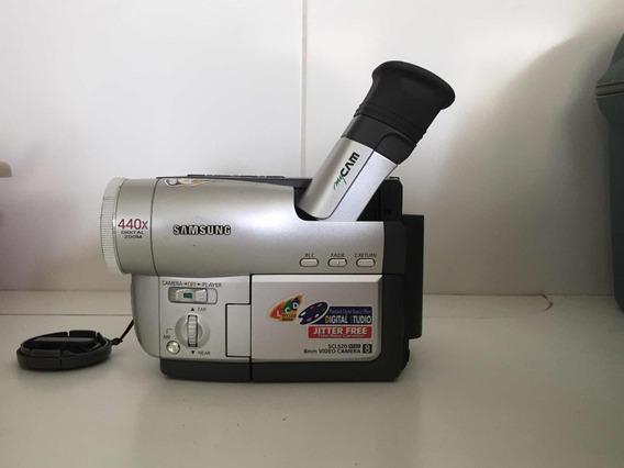 Filmadora Sansung 400 X Dig Zoom Bolsa Forrada ( Campinas)