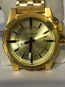 Relógio Masculino Atlantis A3283 Resistente Água Envio Gráts