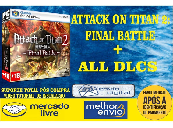 Attack On Titan 2 Final Battle + All Dlcs Pc Game