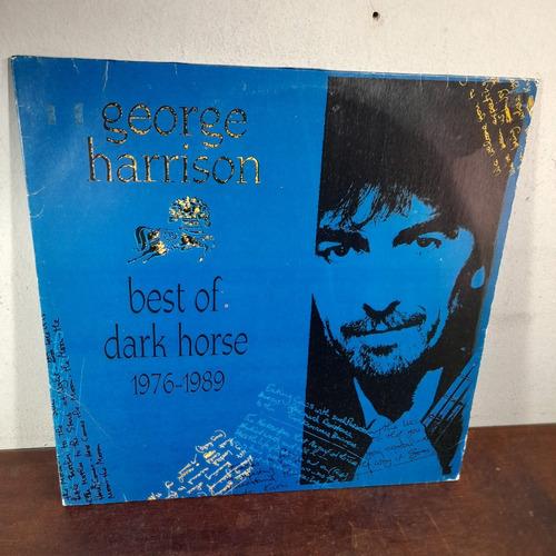 Imagem 1 de 6 de Vinil Lp George Harrison Best Of Dar Horse 1976 1989