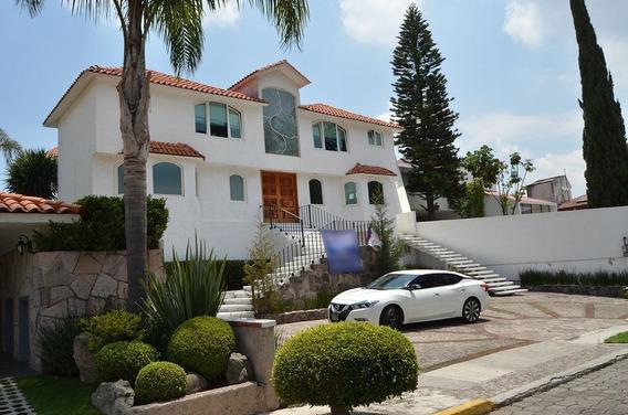 Ev1353-1.-tal Como La Soñó, Hermosa Casa En Loma De Valle Escondido