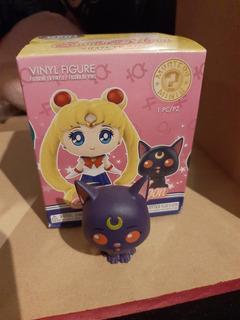 Sailor Moon Figura Sorpresa Coleccionable Gata Luna