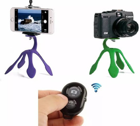 Gekko Pod Para Celular Com Controle + Tripé Suporte Flexível