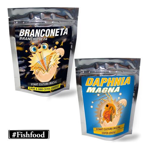 Artemia E Daphnia Magna - Cultura Start Ovos P/ Eclodir