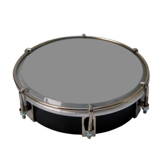 Caseta Tamborin 6 Pulgadas Cromada. Instrumento Percusion