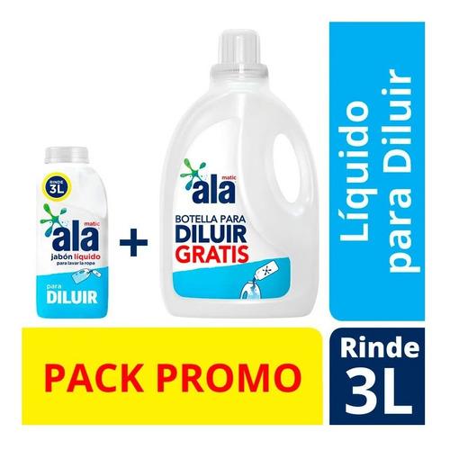 Jabon Liquido Ala Para Diluir 500ml + Botella 3lt Vac Gratis