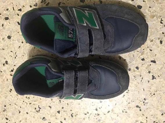 Zapatos Originales New Balance Niños Talla 34