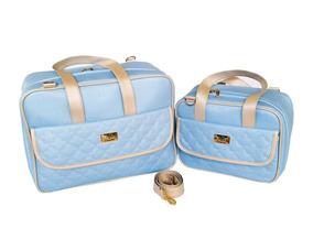586063d30 Kit Bolsa Maternidade Luxo Arte E Companhia Bolsas - Bebês no ...