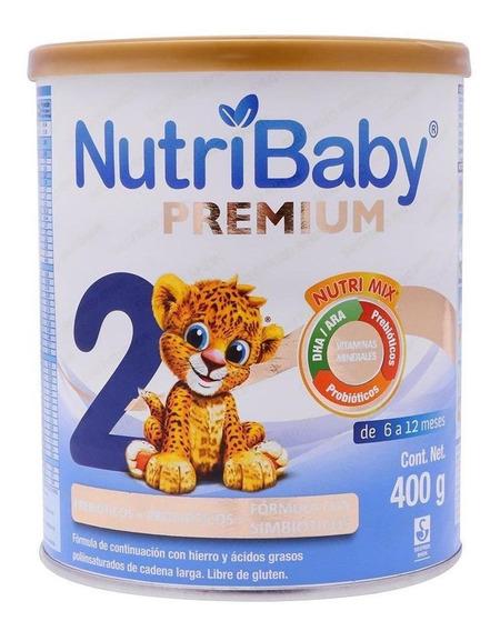 Leche de fórmula en polvo Ethical Pharma NutriBaby 2 en lata de 400g