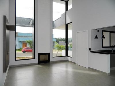 Casa Com 3 Dormitórios À Venda, 105 M² Por R$ 480.000 - Condomínio Village Moutonnée - Salto/sp - Ca1719
