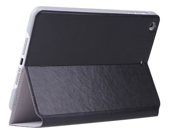 Pu Couro Pu Para iPad Mini Com Tela Retina Preto Da15b