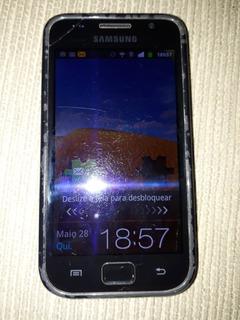Samsung Galaxy Gti9000b Preto Funcionando(bateria Viciada)