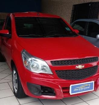 Chevrolet Montana Vermelha