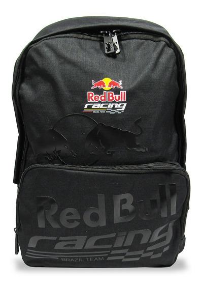 Mochila Adulto Red Bull Original Racing Reforçada Notebook