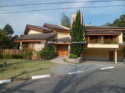 Casa A Venda No Condominio Arujazinho I Com 1480m² De Terreno, 565m² De Construção - Ca00536 - 1640062