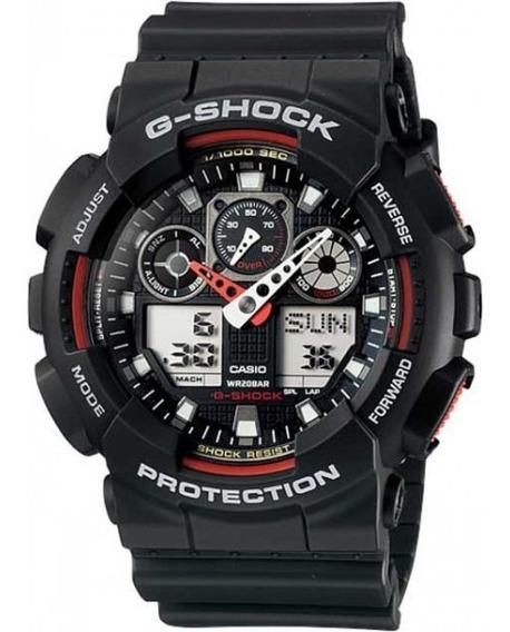 Relógio Casio G-shock Anadigi Ga-100-1a4dr Original