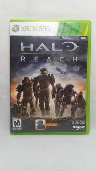 Halo Reach Xbox 360 Original Completo Usado