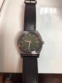 Relógio Nixon Time Teller Couro