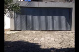 Portão De Garagem Basculante De Metal 6,00x2,40m Completo